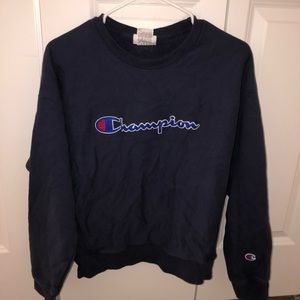 Authentic Champion Logo Crewneck